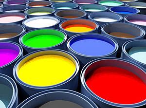 Design: Farbtöpfe