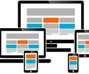Webdesign auf verschiedenen mobilen Geräten