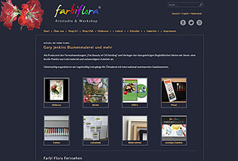 Website Farbi Flora