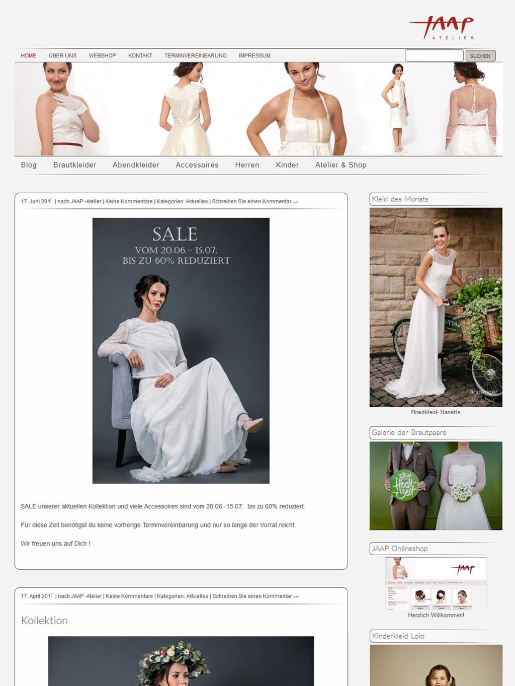 Website JAAP-Atelier