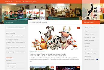Website Jugendclub Mikado