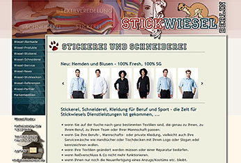 Website Stickwiesel-Berlin