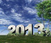 Neujahrskarte 2013