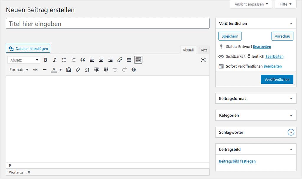 WordPress Classic-Editor